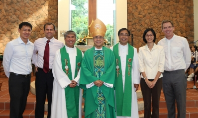 Four New Principals of Catholic Schools Commissioned