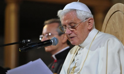 Pope Benedict XVI's address to teachers and religious (UK, 2010)