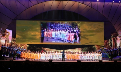Canossian schools choir perform at interfaith concert to mark SG50