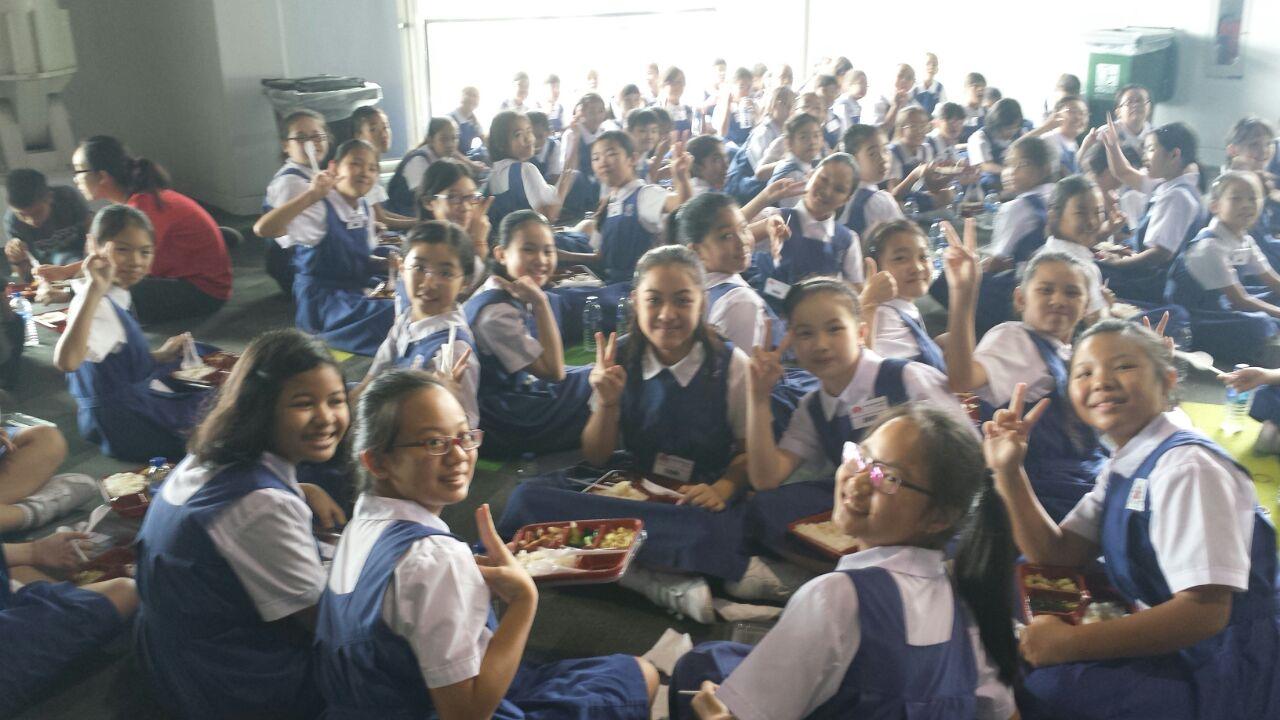 JoySG50 School CHIJ Kellock Lunch Time