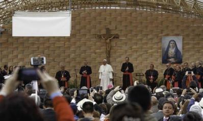 Pope Francis' address during his Meeting with Educators at the Pontifical Catholic University of Ecuador