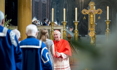 Cardinal Vincent Nichols' homily during his Installation as first Chancellor of St Mary's University, UK