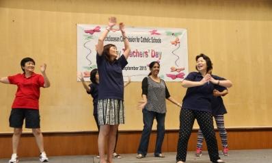Catholic Preschools' educators take part in special Teachers Day celebrations