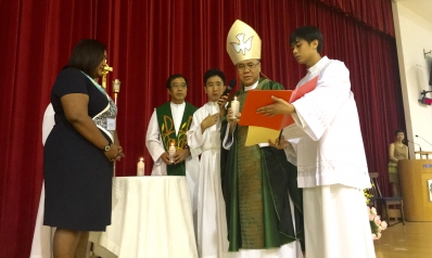 Commissioning of three new principals in the Jubilee Year of Mercy