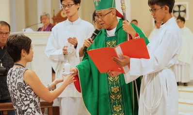 Eleven Principals Commissioned by Archbishop Goh in 2017